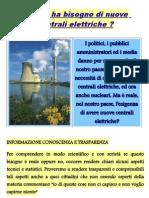 L'Italia Ha Bisogno Di Nuove Centrali Elettriche ?
