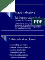 Fraud Indicators