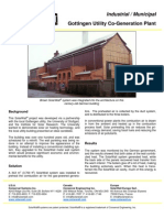 SolarWall Case Study - Gottengen Utility Plant - (solar air heating system)