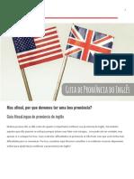 Guia MosaLingua de Pronuncia Em Ingles (New)