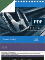 2010 Honda Accord Sedan - Technology Reference Guide
