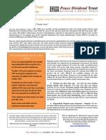 Tender Distribution Service Impact Assessment Study (Tetun)