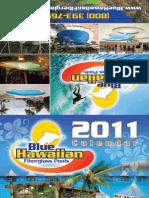 Blue Hawaiian 2011 Calendar