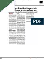 Emorragia di residenti in provincia, serve un freno. I sindaci dal Rettore - Il Corriere Adriatico del 10 luglio 2021