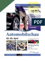 Sonderbeilage Automobilschau Nastätten / KW 12 / 25.03.2011 / Die Zeitung als E-Paper