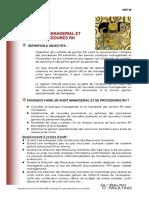 Fiche Audit Managerial Process Rh