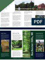 SI 520 - Homework 8 - Hometown Brochure