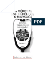 Olivier Chambon La Medecine Psychedelique