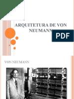 Aula 04 - Arquitetura VonNeumann