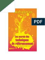 Webmasters Les Secrets des Techniques de Référencement