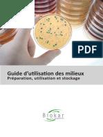 BIOKAR Diagnostics Guide d Utilisation Des Milieux v05201520150702162637
