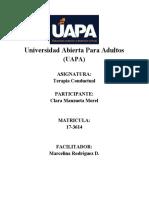 Terapia Conductual (TAREA IV)