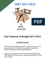 final budget 2011