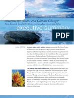 America the Ocean and Climate Change Executive Summary