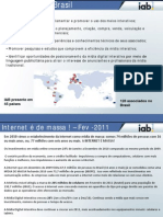 Indicadores de Mercado IAB Brasil Fev11