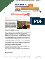16-03-11 Pide Cano Vélez seriedad en discusion hacendaria