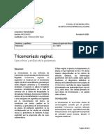 Casos clínico de cada parasitosis