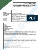 NBR 10520 - 2002 - Citações Em Documentos
