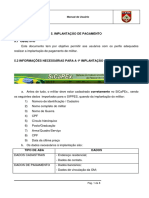 5. Cadastramento No Sicapex e Implantação de Pagamento _ago16