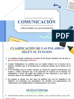 CLASIFICACIÓN DE LAS PALABRAS SEGÚN SU FUNCIÓN