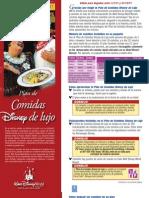 Plan de Alimentos Disney Deluxe 2011 Crisal