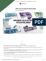 Les 4 étapes pour améliorer l'UX_UI de mon application mobile » AxioCode