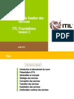 Resumé Gestion Des Services ITIL
