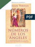 Numeros Angelicales Doreen Virtue-Cursos