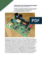 Dokumentation SWC60-2