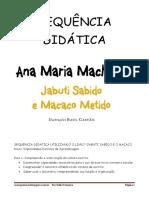 SEQUÊNCIA DIDÁTICA JABUTI SABIDO E MACACO METIDO