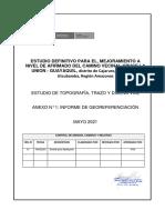 ANEXO N°1 Informe de Georeferenciación F