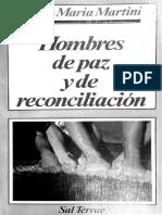 MARTINI, Carlos Maria - Hombres de paz y de reconciliación