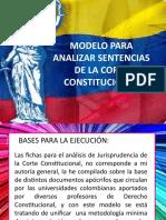 Modelo Para Analizar Sentencias de La Corte Constitucional
