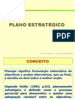 Plano estrategico