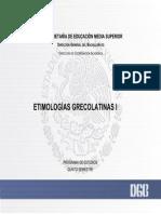 Pages From Programa de Estudio (2018) Etimologias Grecolatinas I-1