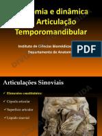 Anatomia e Dinâmica Da Articulação Temporomandibular