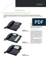 Openscape Desk Phone Cp200 400 600 Fiche Technique Edition 2 Fr