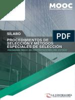 20201116 Sílabo Procedimientos de Selección y M E de Selección