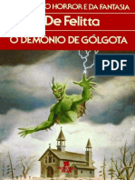 O Demonio de Golgota - Frank de Felitta
