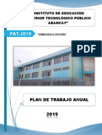 PLAN ANUAL DE TRABAJO -IDEX2019-OFICIAL