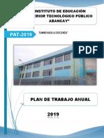 Plan Anual de Trabajo - PAT