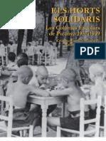 ELS HORTS SOLIDARIS Les Colònies Escolars de Picanya 1937-1939