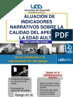 Clase_AAI-2010 ev de ind narrativos sobre la cal de apego en la adultez
