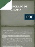 ALVEÓGRAFO DE CHOPIN