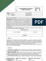 PR-SGQ-01 - Controle de Documentos
