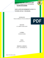 Tarea N°3. Práctica y aplicación de la experimentación. Viviana Vélez