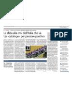 25.03.11 Corriere della Sera. Avvocato di strada nell'archivio delle generatività