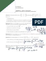 Subiect Matematica Admitere Licenta - Model 1