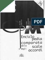 Enciclopedia Comparata Delle Scale e Degli Accordi