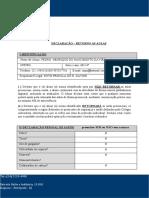 Formulário de Retrono Às Aulas (2)